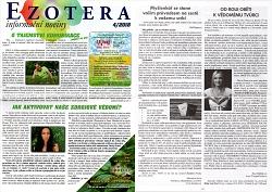 Článek v časopise Ezotera 2018