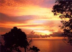 Thajsko zapad slunce Phi Phi