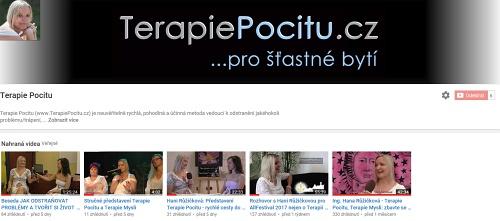 videokanál Terapie Pocitu